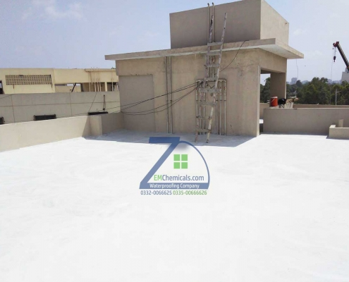 Roof Heat and Waterproofing Treatment at Jamshed Road