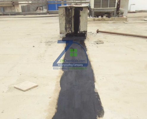 Expansion Joints Waterproofing at Port Qasim