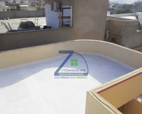 Residential Roof Heat Proofing services karachi