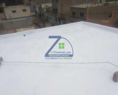 Elestomeric Roof Heat and Waterproofing services in Korangi