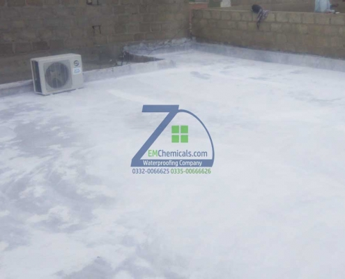 Roof Heat and Waterproofing at Surjani