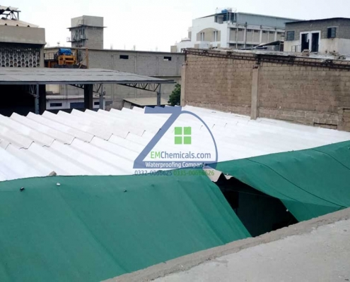 roof heat proofing at asbestos ac sheets in SITE area karachi