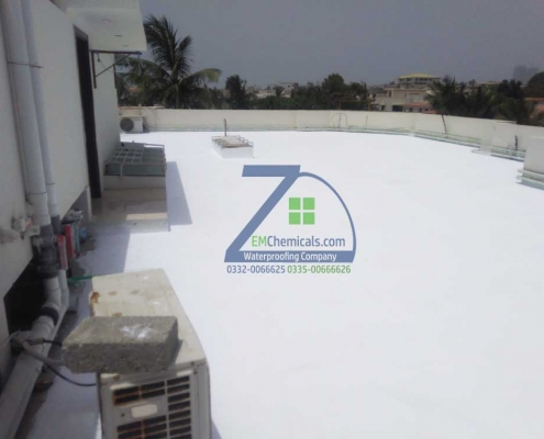 roof heat proofing services at khayaban e sehar dha 5