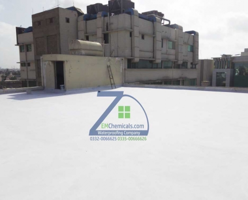 Roof Heat Proofing Done at DHA Phase 1 Indus Automobiles