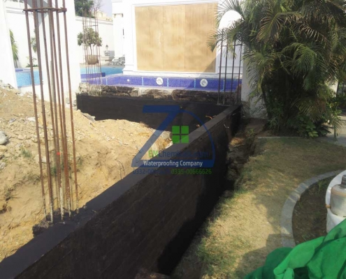 Foundation Waterproofing Treatment in DHA Phase 1