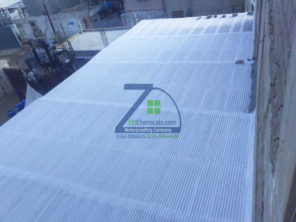 Galvanized Iron G I Sheets Roof Heat And Waterproofing
