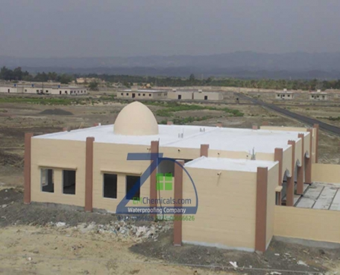 Roof Heat and Waterproofing Done at Masjid in Turbat Balochistan