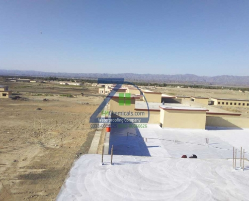 Roof Leakage and Roof Heat Solution on Building 4 Turbat City Baluchistan