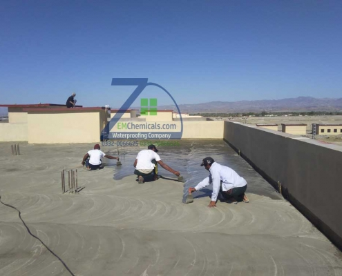 Roof Leakage and Roof Heat Solution on Building 6 Turbat City Baluchistan