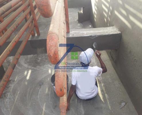 Overhead Water Tank Leakage Repair at Ice Factory, Ghaggar Phatak