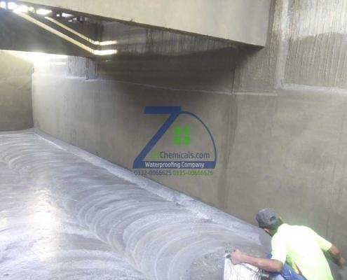 Overhead Water Tank Leakage Seepage Repair Waterproofing at Bhains Colony
