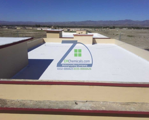 Roof Leakage and Roof Heat Proofing Solution on Building No. 2 at Turbat City Baluchistan