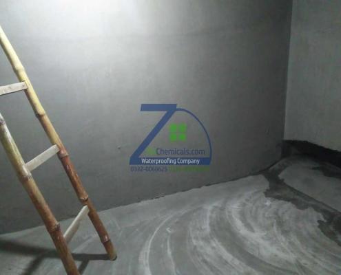 Under Ground Water Tank Leakage Treatment Done at Orangzaib Hospital, Memon Goth