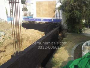 foundation bitumen waterproofing treatment services in karachi pakistan
