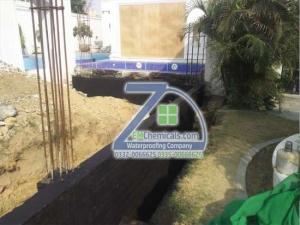 foundation plinth waterproofing treatment