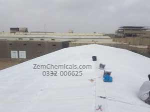galvanized iron gi sheets roof leakage waterproofing services in karachi pakistan by zem chemicals
